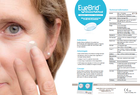 EyeBrid Silicone Multifocal
